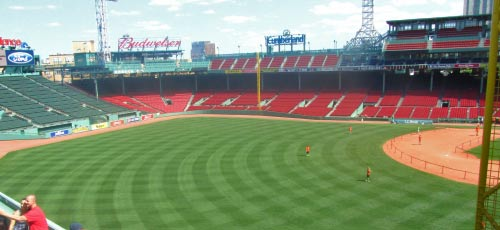 Fenway Park the home of Baseball
